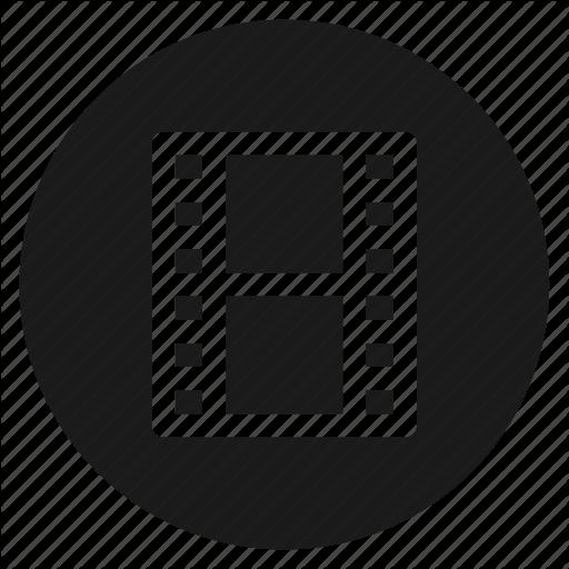 Circle, Circular, Film, Movie, Round, Video, Web Icon