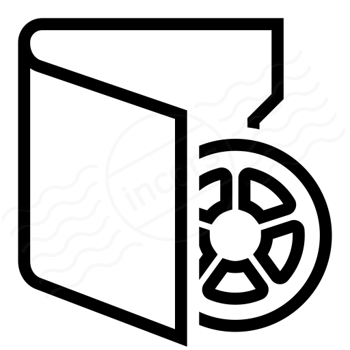 Iconexperience I Collection Folder Movie Icon