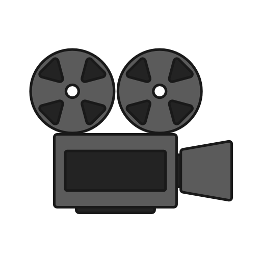 Movie, Cinema, Recording, Video, Film, Camera, Projector Icon Free