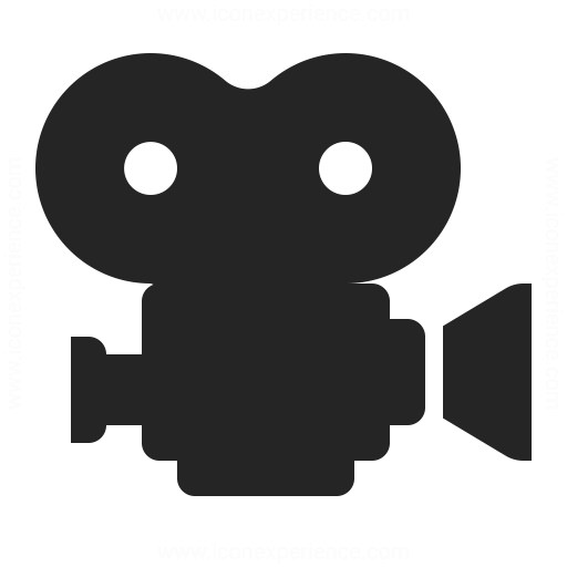 Movie Camera Icon Iconexperience