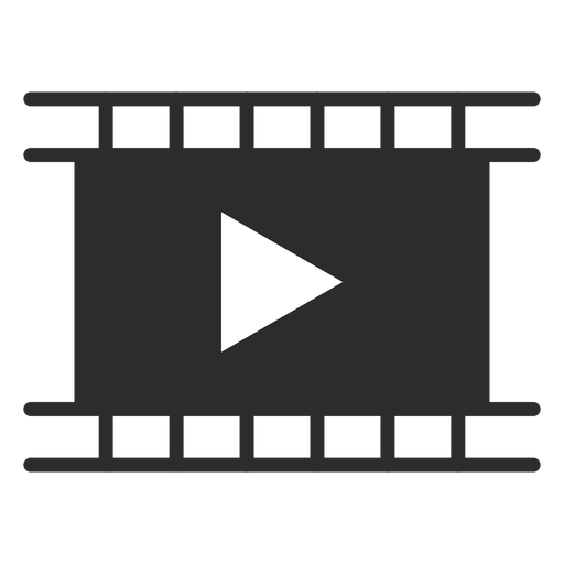 Movie Player Flat Icon