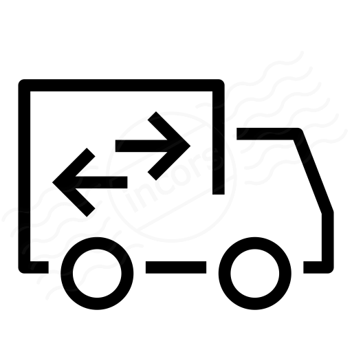 Iconexperience I Collection Moving Truck Icon
