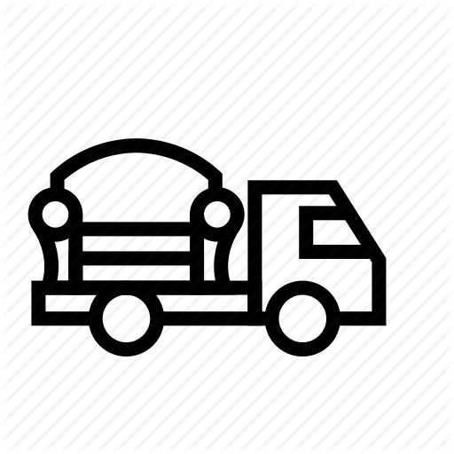 Box, Car, Furniture, Move, Sofa, Truck Icon