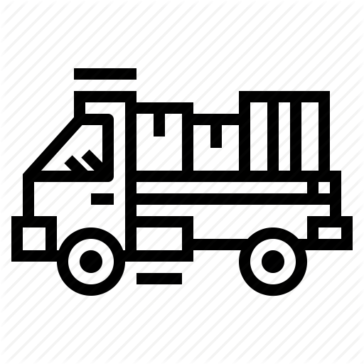 Delivery, Move, Moving, Truck Icon