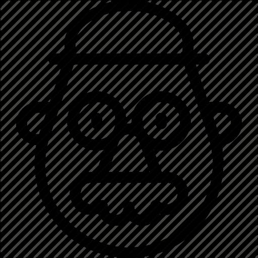 Character, Famous, Head, Mr, Potato Icon