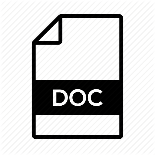 Doc, Document, File, Microsoft, Word Icon