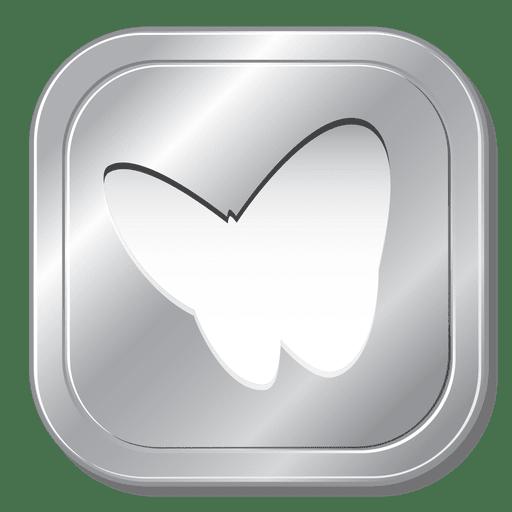Msn Metallic Button