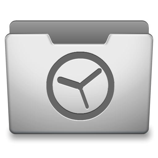 Aluminum Grey History Icon