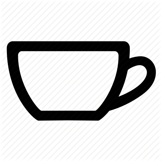 Coffee, Cup, Drinking Equipment, Empty Cup, Mug Icon