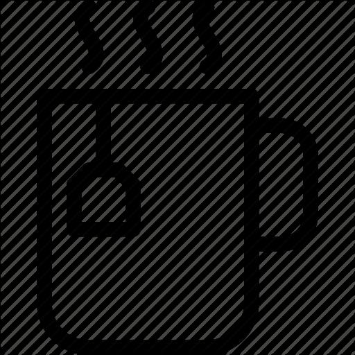 Aromatic, Beverage, Line Icon, Mug, Tea, Tea Bag, Tea Mug Icon