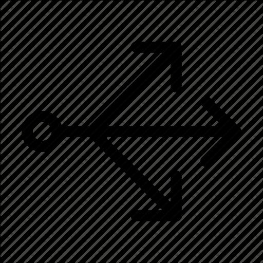 Arrow, Arrows, Direction, Multi Icon