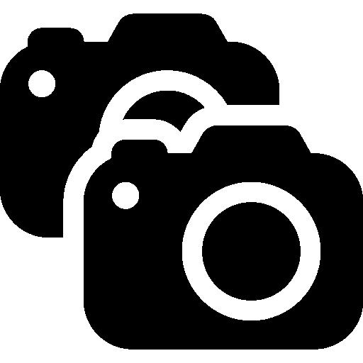 Photo Video Multiple Cameras Icon Windows Iconset