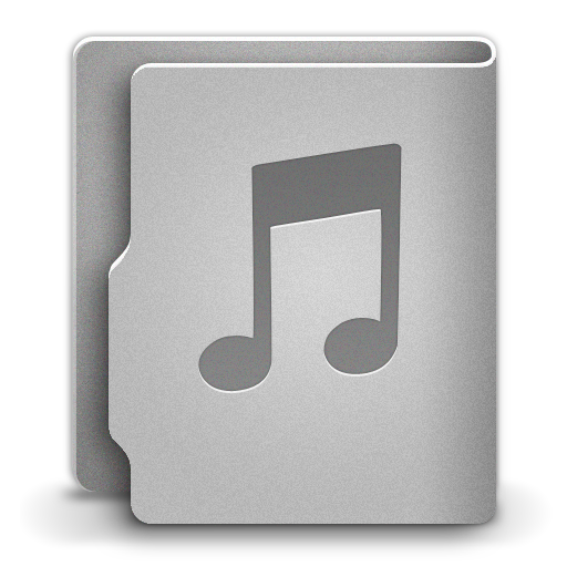 Music Icon Aquave Metal Iconset