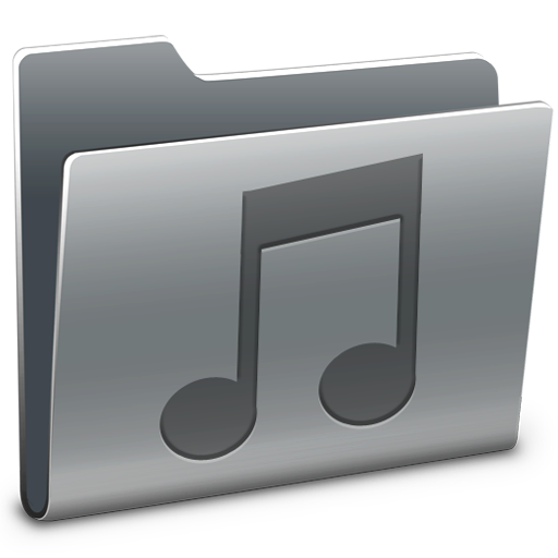 Music, Folder Icon Free Of Hyperion Icons