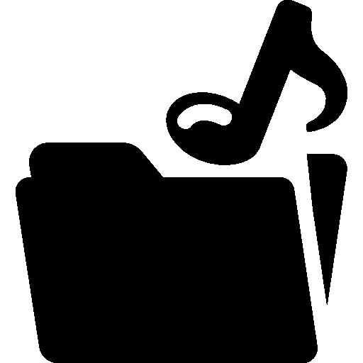 Music Folder Icons Free Download