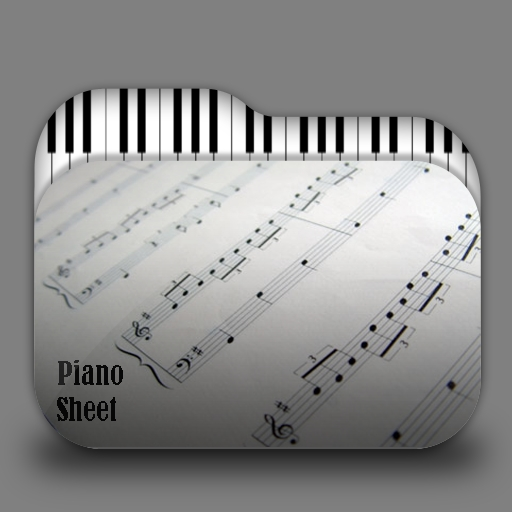 Piano Sheet Folder Icon