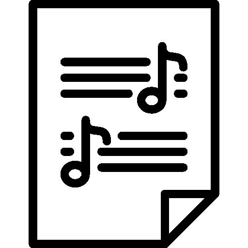 Sheet Music Icons Free Download