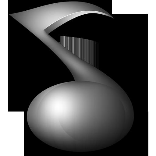 Grey Music Icon
