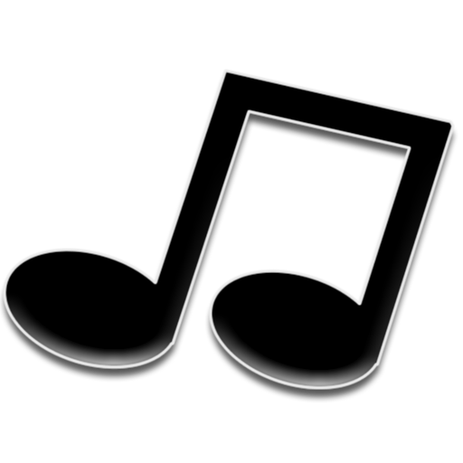 Music Black Dark Icon