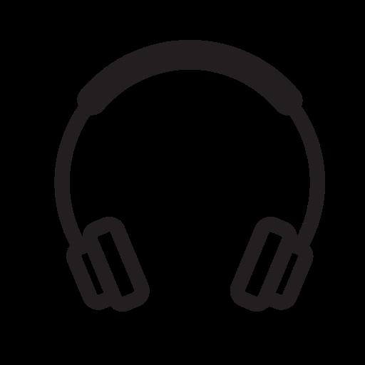 Headphones, Listen, Music, Play, Run, Running Icon