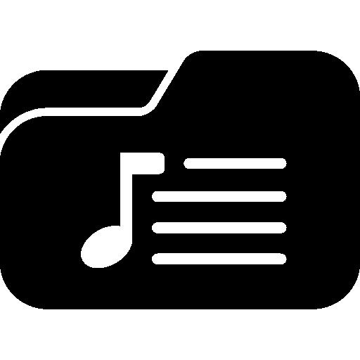 Music Playlist Folder Icons Free Download