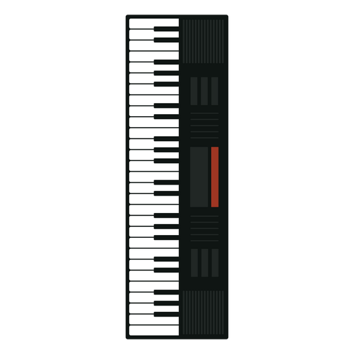 Synthesizer Musical Instrument Icon