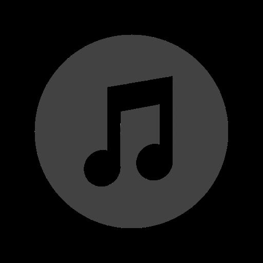 Social Media Music Icon