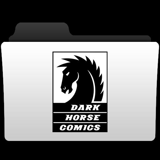Dark, Horse, Folder Icon Free Of Comic Publisher Folder Icons