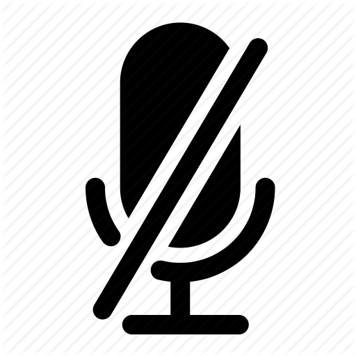 Unmute Microphone And Icon Mute