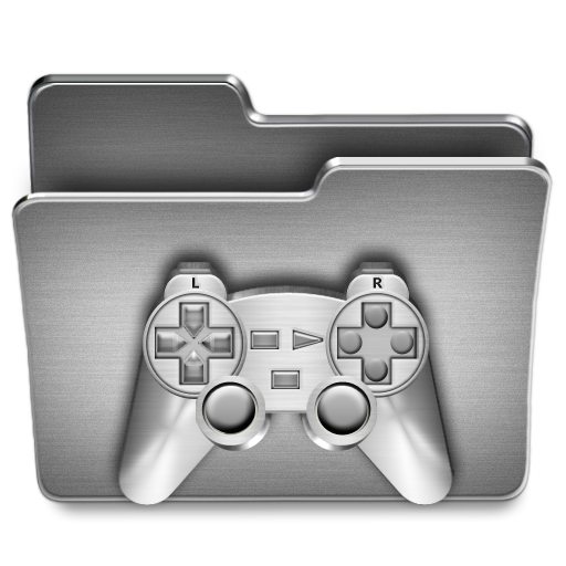 Games Icon Steel System Iconset