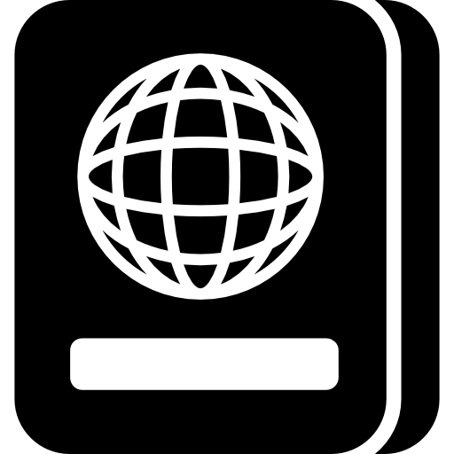 International Passport Icons Free Download