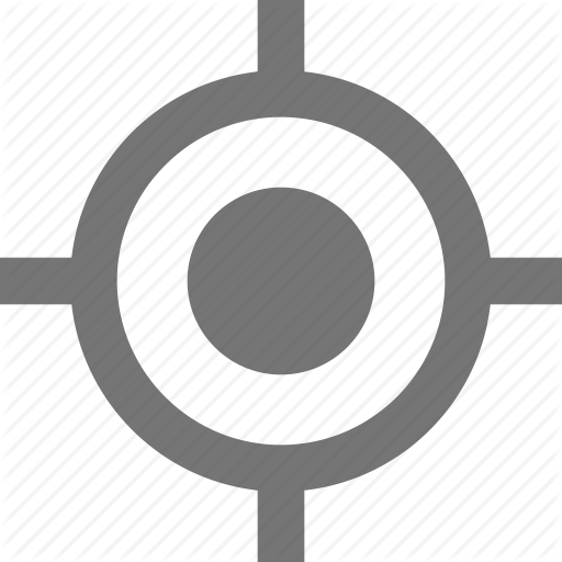 Crosshairs, Fixed, Gps, Material, My Location, Navigation Icon