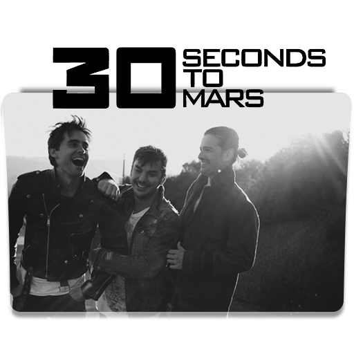 My World Of Rock Music Seconds To Mars Folder Icons