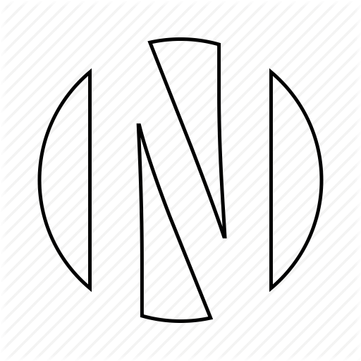 English, Font, Latin, Letter, Logo, N Icon