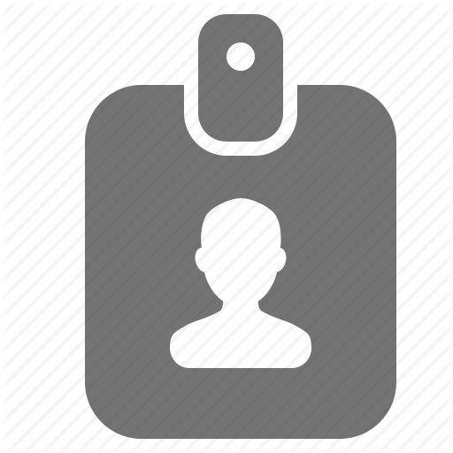Account, Avatar, Card, Id, Name, Profile, Tag Icon