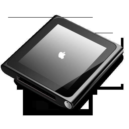 Ipod Nano Black Icon Ipod Nano Iconset Robsonbillponte