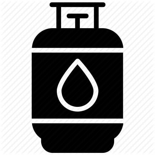 Cylinder, Gas Cylinder, Lpg Gas, Natural Gas, Propane Icon