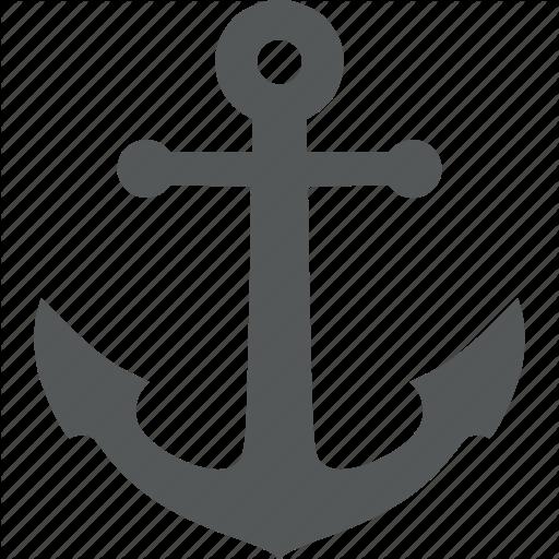 Anchor, Marine, Maritime, Nautical Icon
