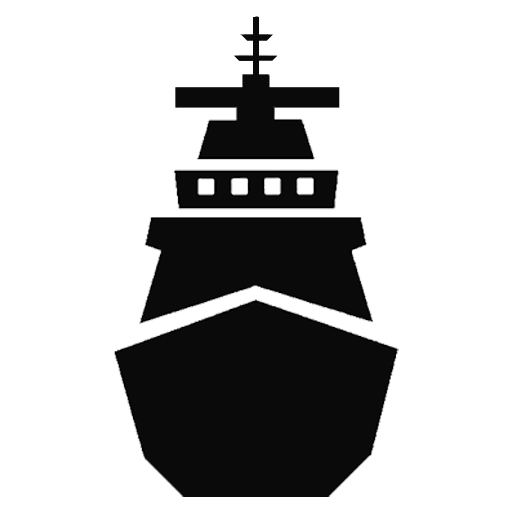 Navy Ship Pier Side Connectivity Icon