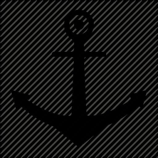 Anchor, Navy, Sail, Sailing Icon