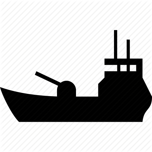 Pictures Of Shipping Boat Icon