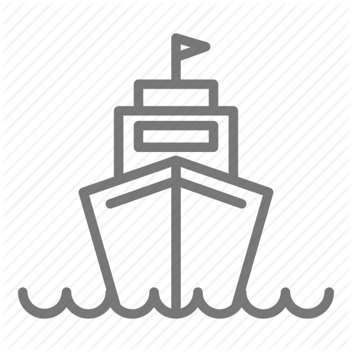 Aircraft Carrier, Military, Navy, Ship Icon
