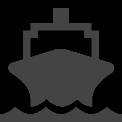 Navy, Transport, Navigation, Ship Icon