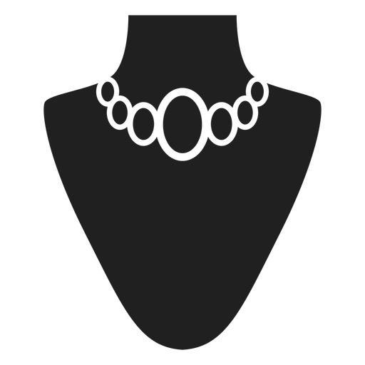 Choker Necklace Black Icon