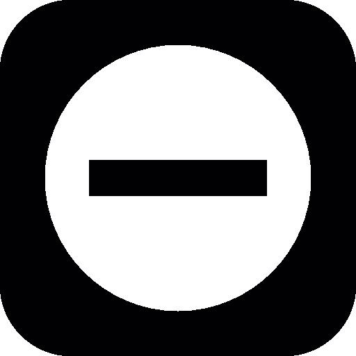 Negative Icon
