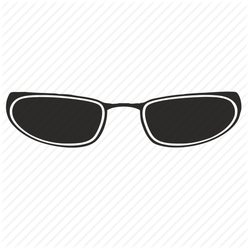 Glasses, Matrix, Neo, Sun Icon