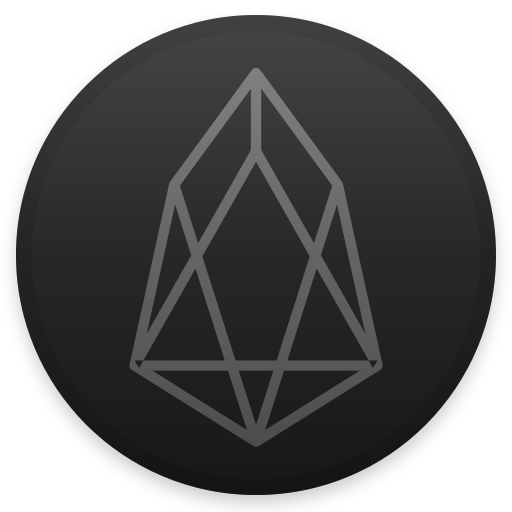 Eos Icon Cryptocurrency Iconset Christopher Downer