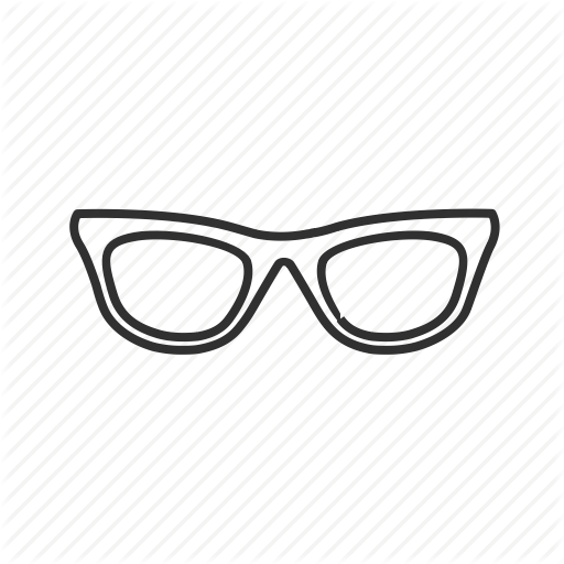 Eyeglass, Eyewear, Frame, Glasses, Lense, Nerd Glasses, Sunglass Icon