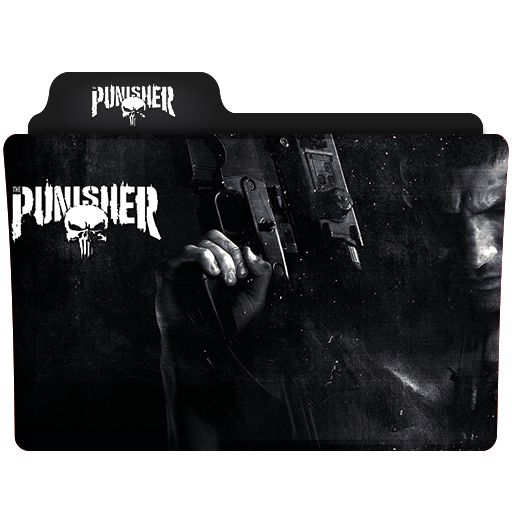 The Punisher Folder Icon