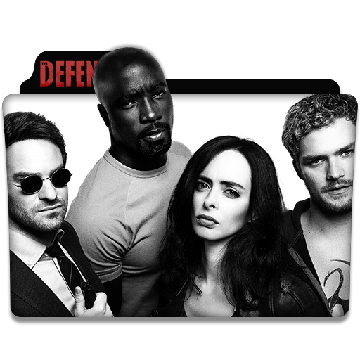 The Defenders Tv Series Folder Icon
